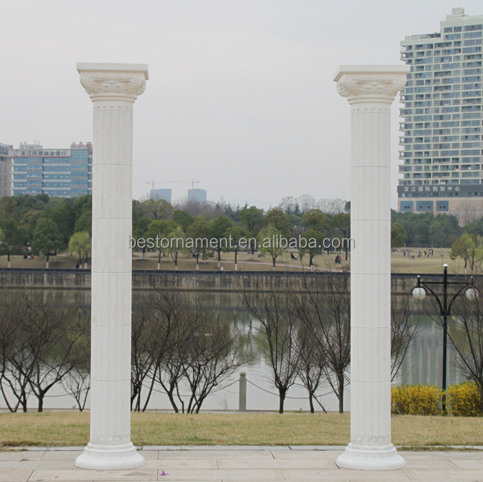 wedding road lead The wedding arrangement Raised Wedding plastic high Roman pillars high plastic roman pillars