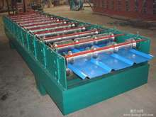 Trade Assurance JCH 840 Galvanized arch joint hidden automatic roofing panel roll forming machine