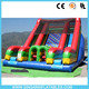 Double lane giant inflatable slide climbing slip n slide for adult and kids