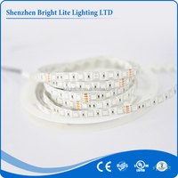 Best sellers high quality 5050 IP65 Yellow ROHS 60led solar powered led strip lights