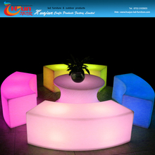 funky colorful bench outdoor furniture/led event bench furniture