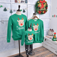 Winter Family look matching mom new Star Christmas deer father mother daughter son baby outfits Christmas Pajamas clothes