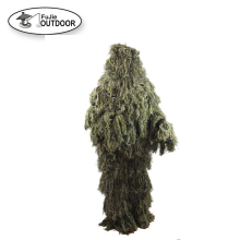 2018 Durable Forest Product Mesh Lining 3D Camo Ghillie Suit for Hunting