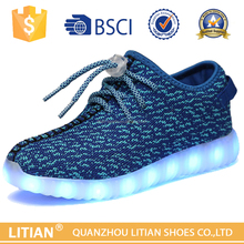 2016 New arrival hot sale light up led shoes