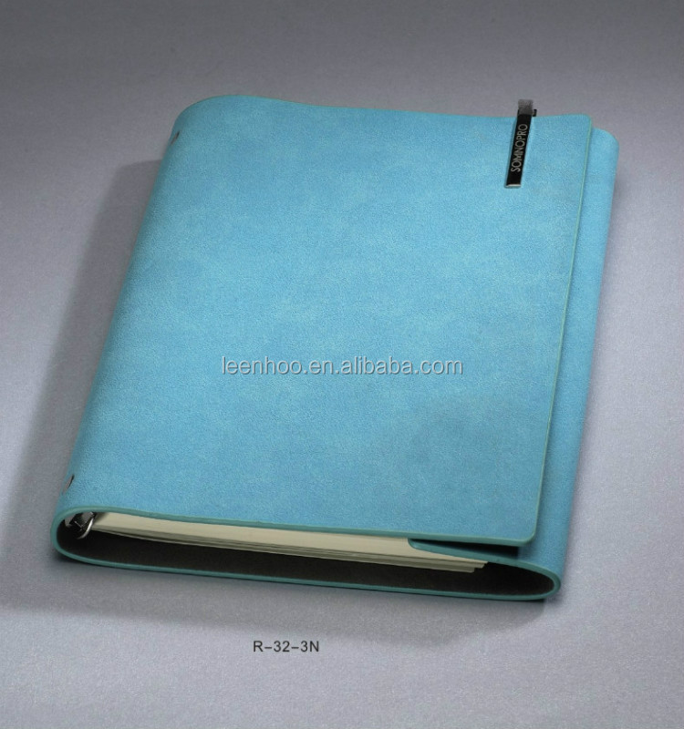 Journal & dairy plastic spiral notebook bookmark square lined notebook