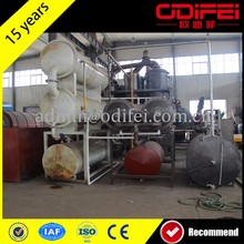 new design used tire pyrolysis to oil device with the competitve price