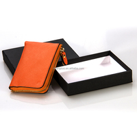 Alibaba Express excellent Handcraft Leather Coin Purse with Zipper