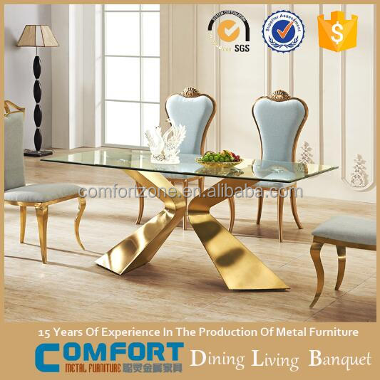 Chinese supplier hotel furniture marble dining table set