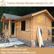 Low Cost Beautiful Prefabricated Wooden Club House Manufactory Price