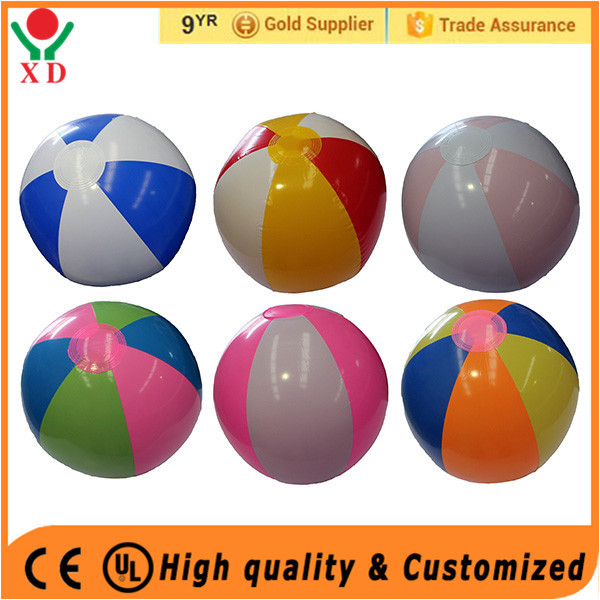 Factory price Factory Pvc Balls Beach Ball With Logo Printing Inflatable Pvc Beach Ball