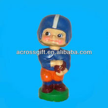 bobblehead plastic navy football