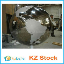 large garden decorative stainles steel hollow ball