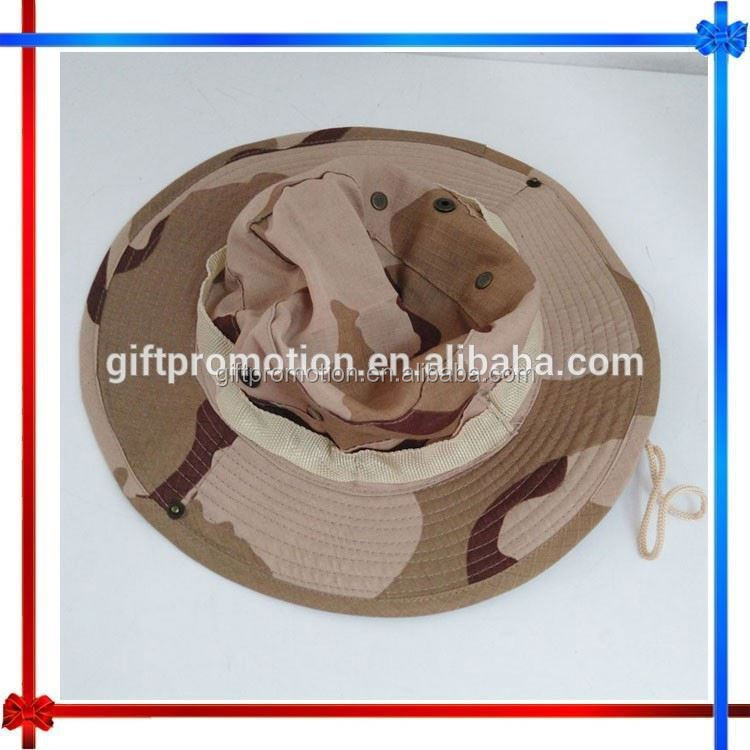 LN36 foldable cotton outdoor fishing bucket hat