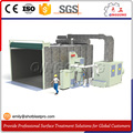 automatic industrial cleaning machine blasting cabinet /blasting chamber