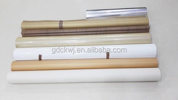 decorative sticking paper self adhesive aluminum foil paper for sale