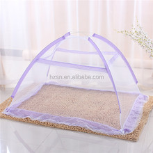 2015 the most popular 100% polyester home textile pop up tent mosquito net to India and Indonesia