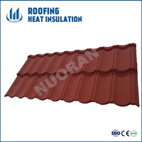 Popular Shingle Mixed Color Stone Coated Steel Roofing, High Quality Galvanised Stone Steel Roof Tile