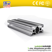 6063 T5 extruder high quality v slot aluminum extrusion profile