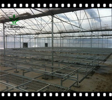Modern appearance large operation space multi span agricultural greenhouse