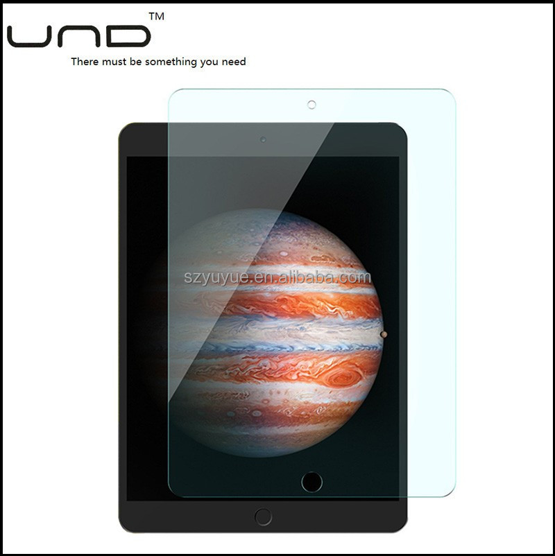 2017 9h Anti shock Tempered Glass screen protector guard for ipad 2/3/4