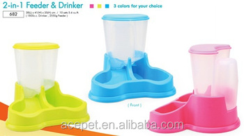 2-in-1 Drinker and Feeder
