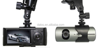 "X3000 Car DVR 2.7"" Dual Camera Digital Video Recorder GSensor GPS"