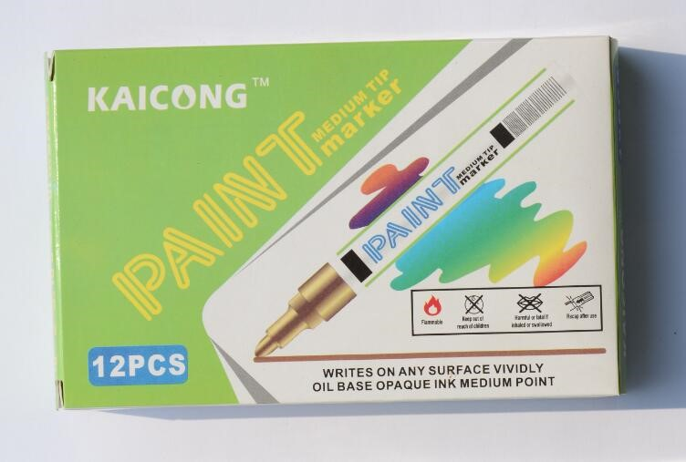 2019 OIL-BASED Opaque ink Acrylic Paint marker,Valve Action Paint pen,poster marker