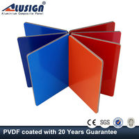 Alusign pvdf aluminum composite board acp ceiling panel with low price