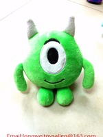 Three eyes alien Adorable China shenzhen Disney approved OEM cartoon character plush toys