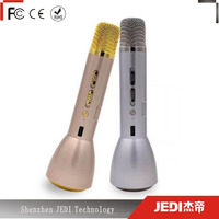 Bluetooth karaoke mic wireless k088 magic microphone with speaker_HL1823