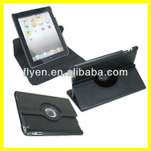 Tablet Accessories for 9.7 inch Leather 360 Rotating for iPad4 Case Magnetic Smart Cover 2013 New Product