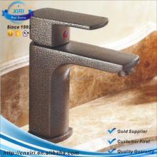 Single Handle Bathroom Basin Sink Mixer Tap Antique Brass Waterfall Spout Faucet LY-22