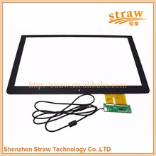 High-rated Transparent Touch Screen 12.1 Inch USB Capacitive For Explosion-proof Monitor