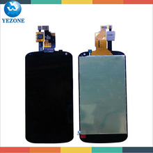 100% Warranty For LG Google Nexus 4 E960 LCD with Touch Digitizer Replacement, For LG LCD Parts