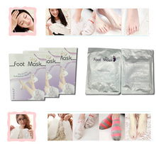 Removal Exfoliating Spa Socks Milky Foot Mask