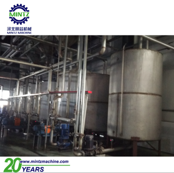high extraction raw sugar refinery processing line with low strike time