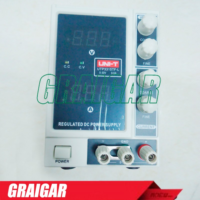 UNI-T UTP3315TFL DC Power Supply Constant Voltage Current Function Current 0~30V 0~5A Power <strong>Source</strong> 3315