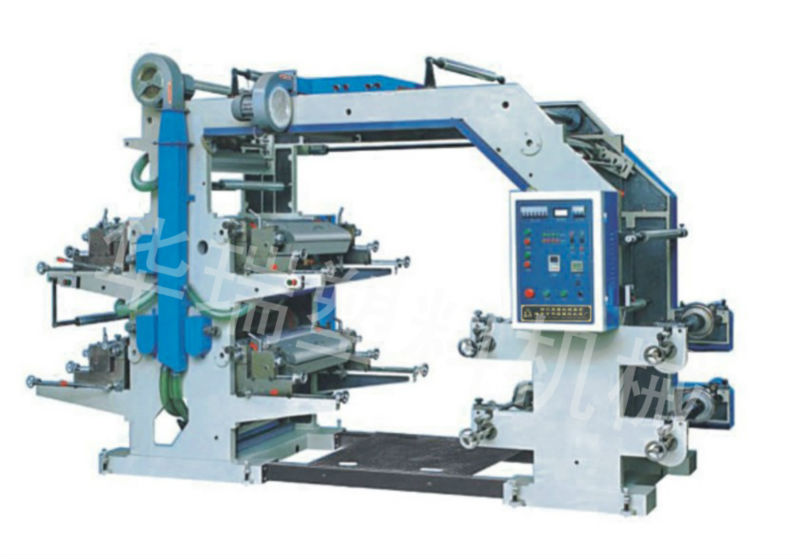 YT Series Four Colors Flexo Printing Machine
