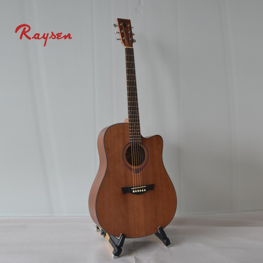 Cheap Acoustic Guitar Sapele Body musical equipment