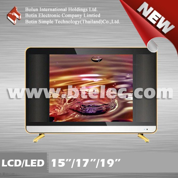 2016 newest model golden cabinet 15/17/19 inch LCD/LED TV
