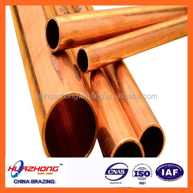 Large diameter copper pipe view