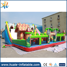 inflatable funny animal zoo bouncer/cartoon theme bouncy castle giant inflatable jumping bouncer