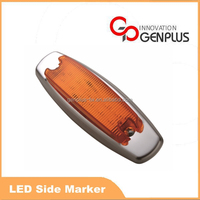 New Amber clear side marker 12V SMD LED light for truck driving
