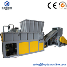 used plastic single shaft shredder for paper/film/granulate/mental