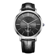 TOP 2015 Luxury and Promotion brand black matte dial automatic movt gift watch for men