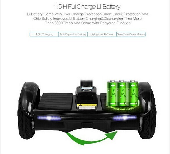 8.0 inch electric hoverboard with samsung battery 700W china wholesale hoverboard free shipping