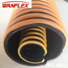 flexible pvc suction drain pipe/pvc extensible hose for sink