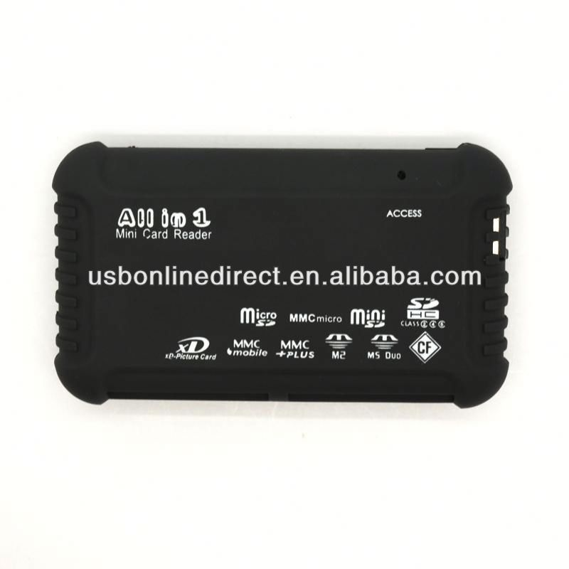 All in 1 USB2.0 micro mini SD SDHC Multi Card reader + USB Cable