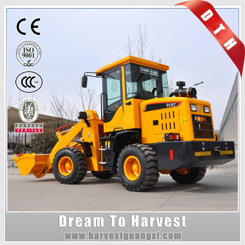 Made in China 1000kg bucket Mini Wheel Loader With Ce Epa For Sale