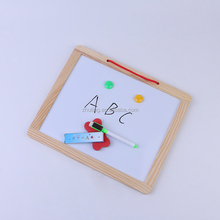 30*25CM kids drawing toys writing board magnetic wooden board